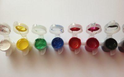 Z życia blogerki czyli 90 dniowe wyzwanie!!! Dzień 12/90 Farbki akrylowe Polycolor.Nie ma lepszych!!