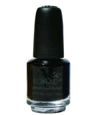 Lakier black 5 ml konad