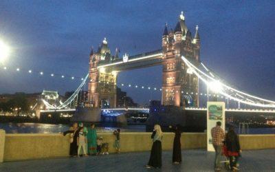 Z życia blogerki czyli 90 dniowe wyzwanie!!! Dzień 46/90 Pozdrowienia z London Bridge :)
