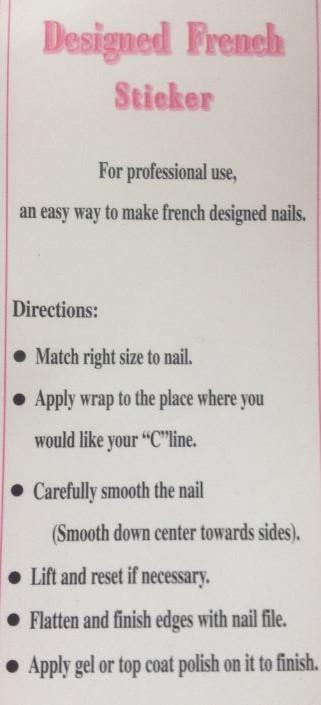 naklejki instrukcja