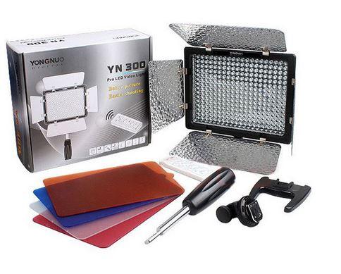 YN 300 Video Light filters