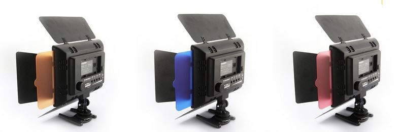 Yongnuo YN-300 YN300 300 LED Video Camera Light FILTERS