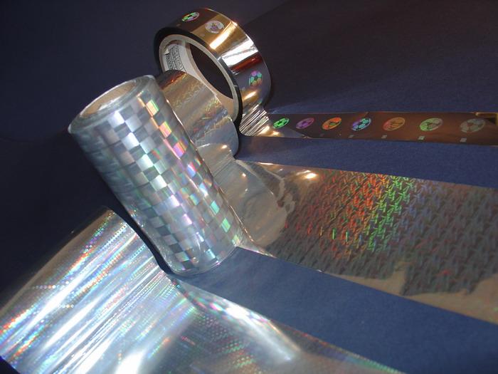 folia hologramowa zgrzewalna