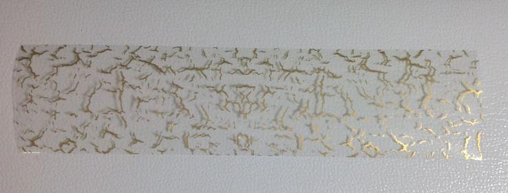 folia transparentna złota