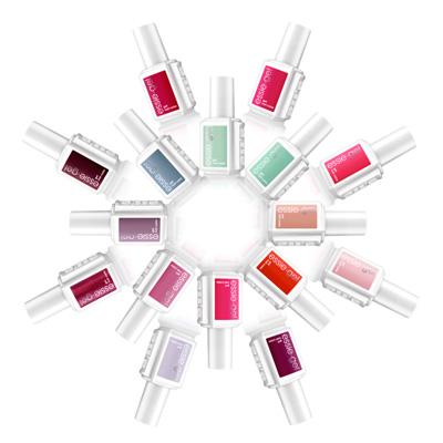 Paleta unikalnych 36 kolorów stworzona przez Essie Weingarten. Czysta, świeża i wyszukana kolekcja żeli.