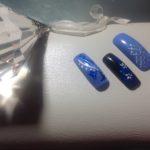 SYLWESTROWE ZDOBIENIA Granaty i odcienie błękitu