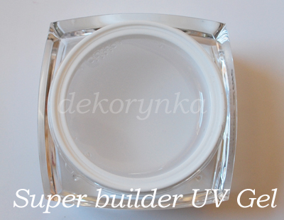 zel-UV-super budujacy-clear