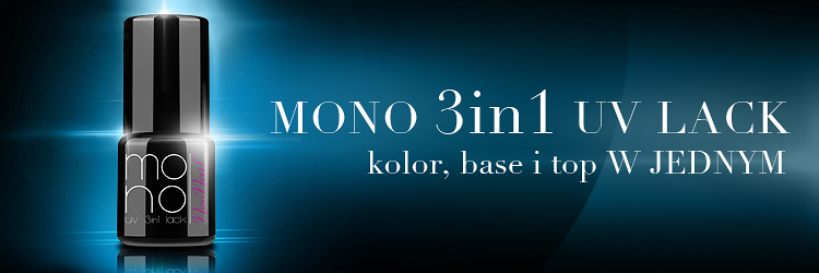 lakier hybrydowy Mono Neo nail 3 w 1