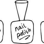 SZYBKO EFEKTOWNIE I PROSTO. Zdobienia paznokci czerń i biel
