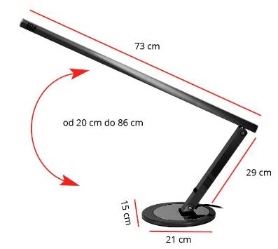 Lampa biurkowa kosmetyczna 20 W Activ swietlowka