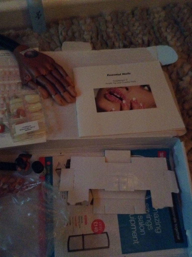 Profesjonalny Zestaw do cwiczen nail trainer