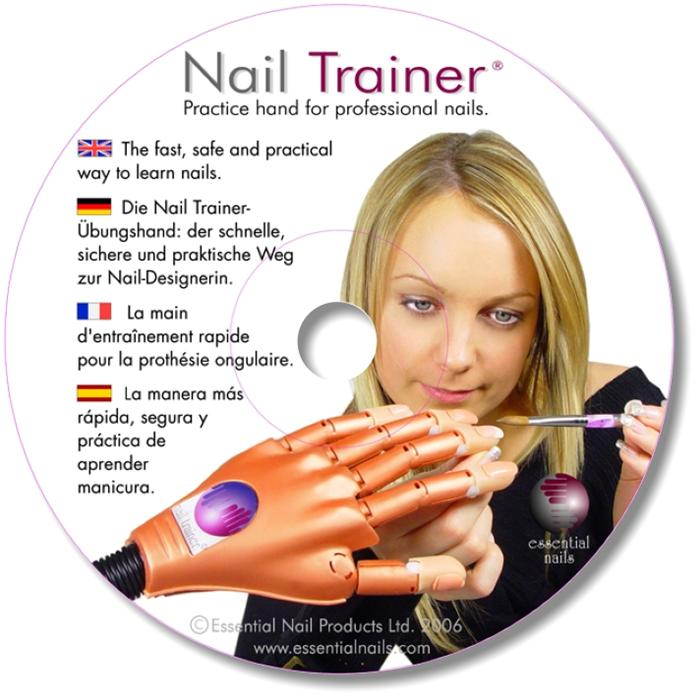nail trainer hand dvd