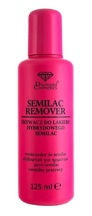 semilac remover do usuwania lakieru hybrydowego 125ml