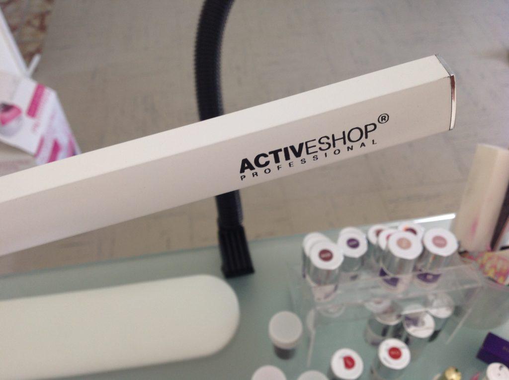 lampa bezcieniowa na biurko kosmetyczne ACTIVESHOP PROFESSIONAL