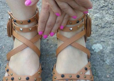 lakier hybrydowy stopy