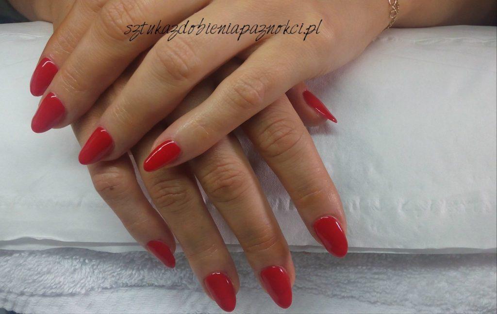 manicure hybrydowy naturalna płytka