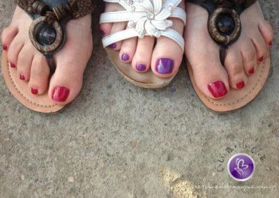stopy manicure hybrydowy